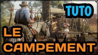 Red Dead Redemption 2 : AMÉLIOREZ VOTRE CAMP, GÉRER LES STOCK ECT... [Tuto] #2