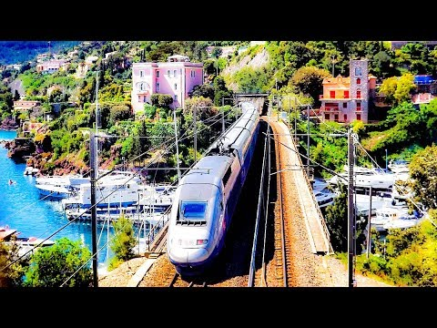 Riding The Train From Marseille To Nice, France