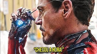 A NOVA ARMADURA SECRETA DO HOMEM DE FERRO!!! - SuperBowl Trailer