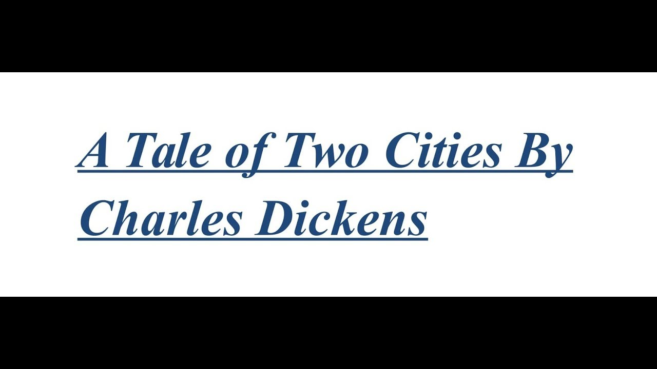 a tale of two cities by charles dickens short summary