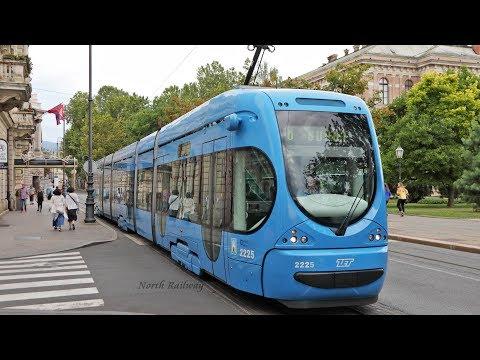Trams in Zagreb / ザグレブのトラム