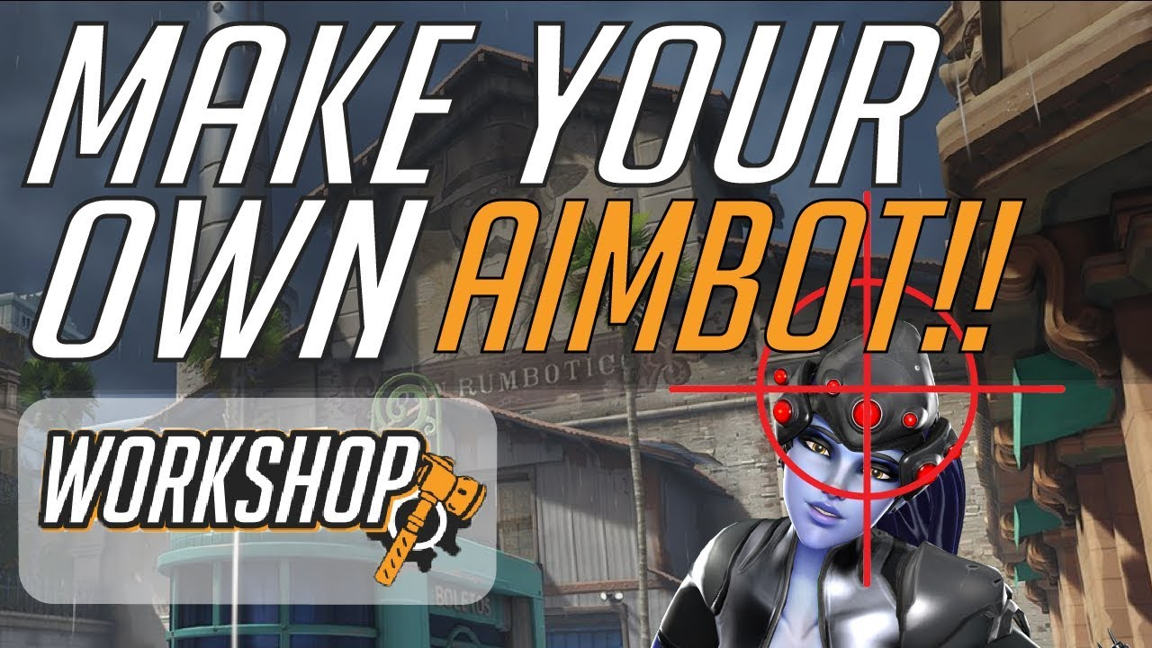 How to Make Your Own Aimbot in Overwatch!!!