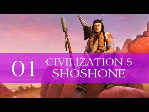 Civilization V - Part 1 - The Shoshone of a Journey