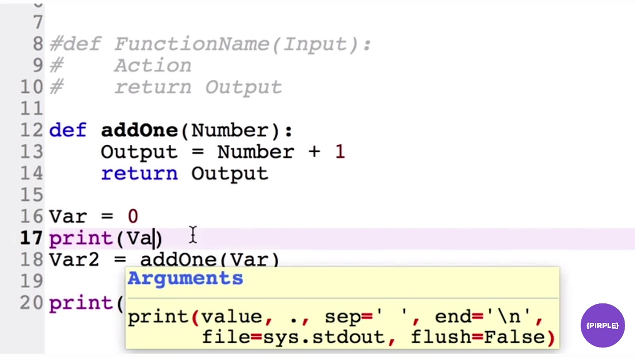 Functions in Python 3 | Python is Easy