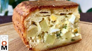 Заливной Картофельный Пирог на Кефире, Нежное Тесто | Potato Pie Recipe | Ольга Матвей