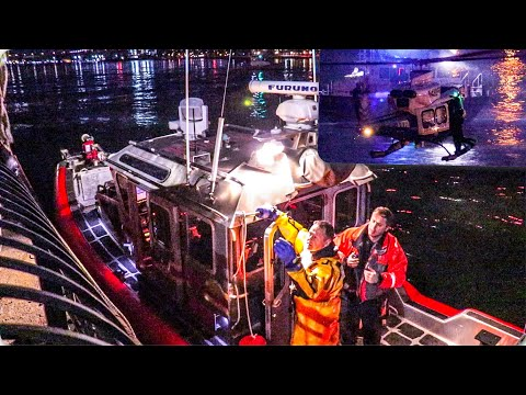 **Exclusive Search and Rescue Video** East River Helicopter Crash - FDNY 10-60 2nd Alarm Box 8611