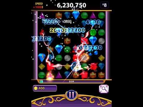 Bejeweled Blitz: SnowGlove, First Three Games