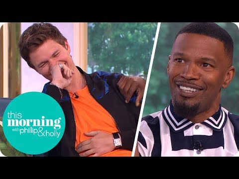 Thumbnail: Jamie Foxx Has Has Everyone in Stitches Talking About 'Baby Driver' | This Morning