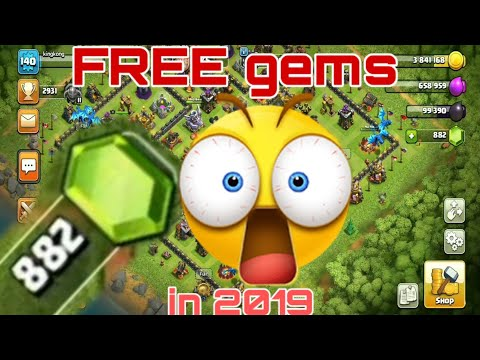 How To Get Free Gems In Clash Of Clans 2019   Clash Of Clans Free Gems