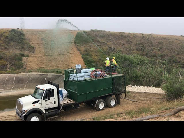 4G Hydroseeding Site Restoration - Vandenberg AFB