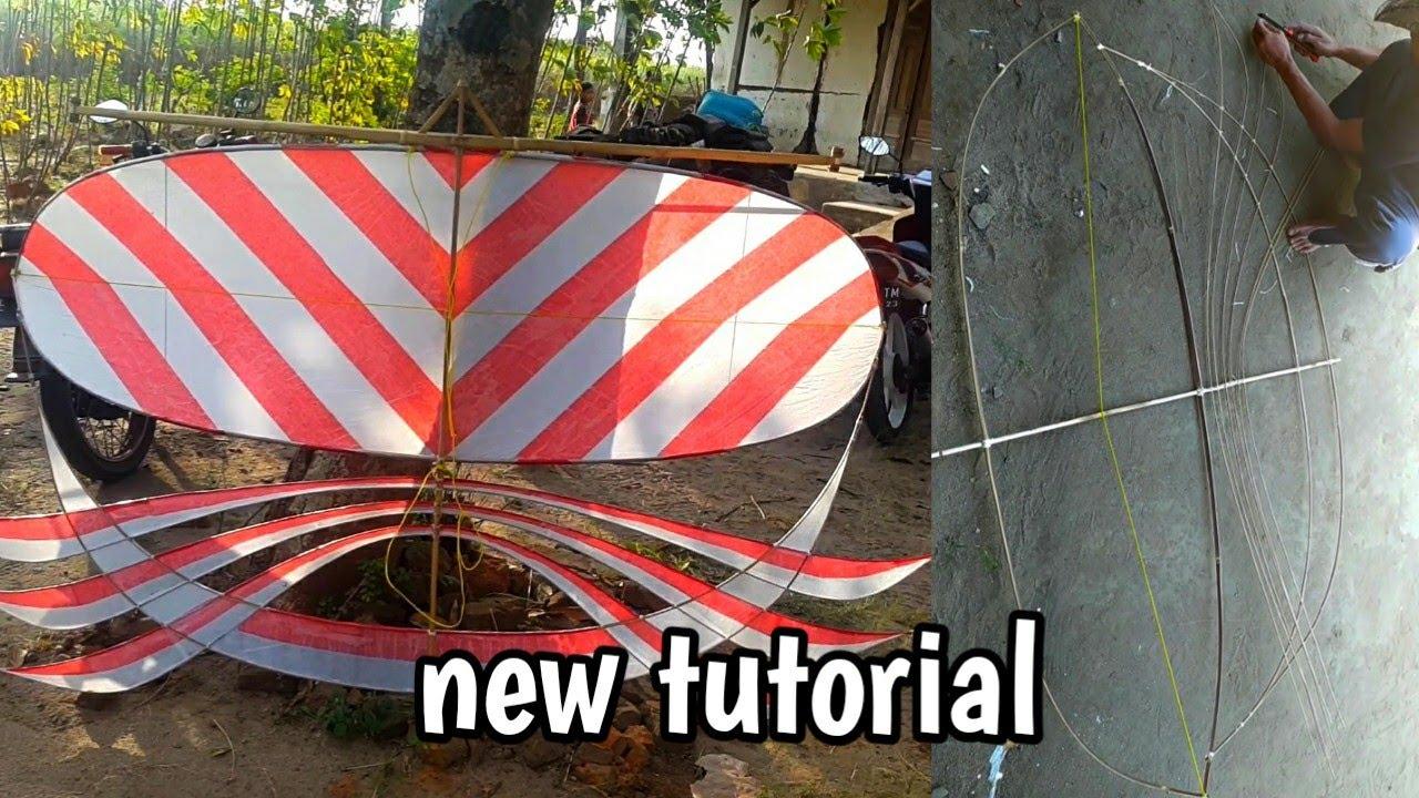 Cara Membuat Layangan Sawangan Versi plat AE,untuk trek angin lesus