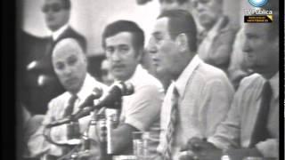 Archivo histórico - Perón en la CGT (diciembre de 1973) - (versión completa)