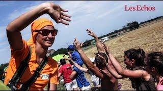 Sur les routes du Tour de France, des marques en quête de proximité