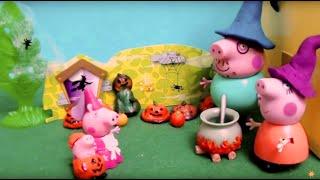 Мультфильм игрушками Свинка Пиги Pig Хэллоуин (Halloween)