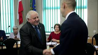 Wybrano przewodniczącego Rady Gminy Ostrów Mazowiecka (17.10.2018)