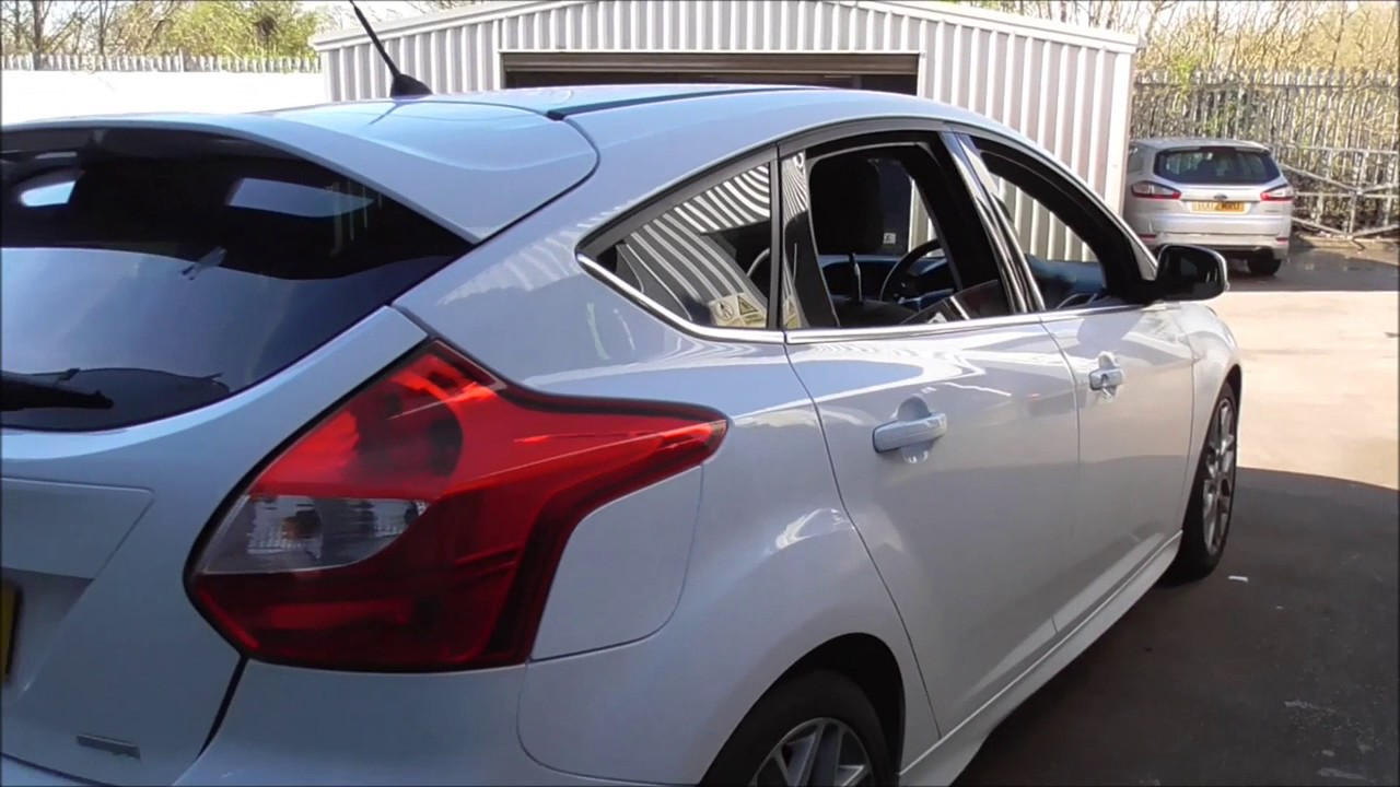 ford focus 1.6 182 ecoboost zetec s 5dr u75589 - youtube
