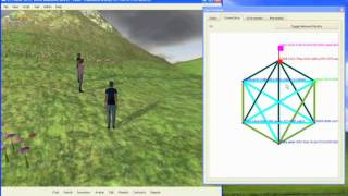 VirtualLife virtual reality engine: an overlay network
