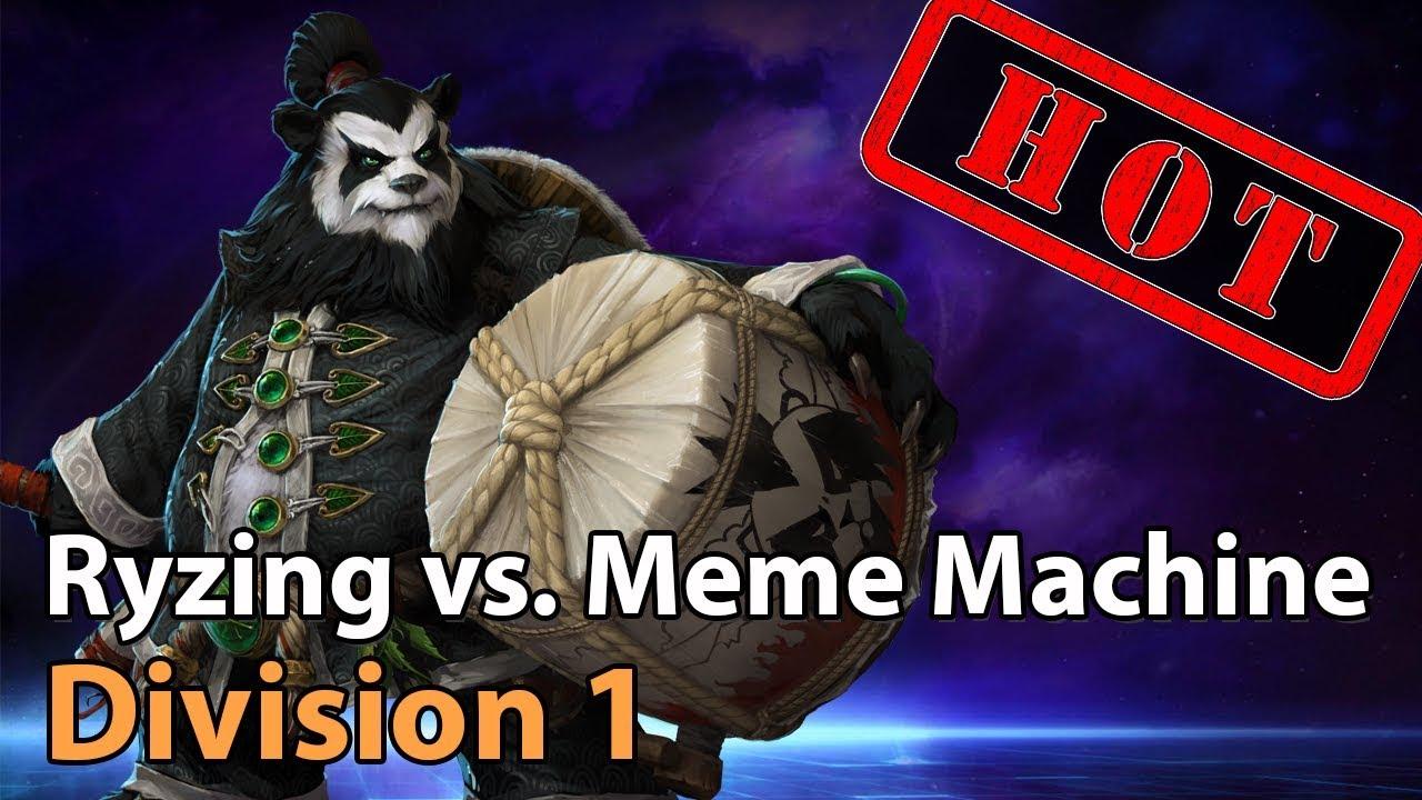 ► Heroes of the Storm: Meme Machine vs. Ryzing Gaming - Division 1 - Heroes Lounge