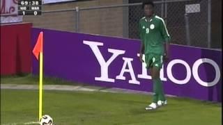 2005 (June 28) Nigeria 3 -Morocco 0 (Under 20 World Cup)
