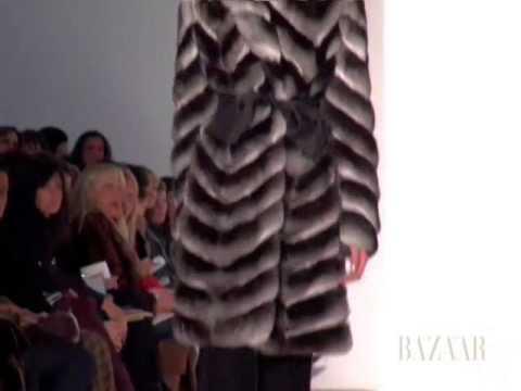Dennis Basso Fall Fashion Week