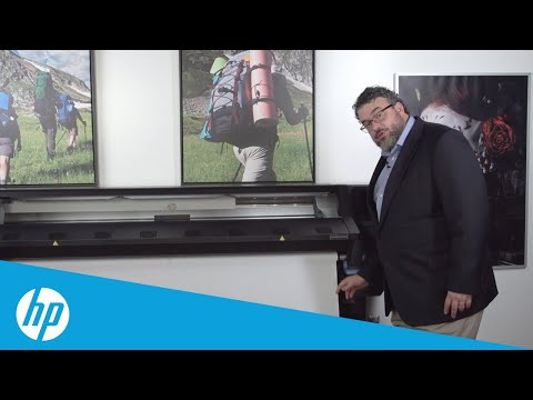 Printing On Fabric Part 5: On the Roll and Printing | HP Latex | HP