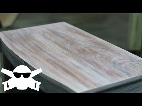 HOW-TO Refinish and Refurbish FURNITURE using Stain, Paint, and a little Woodworking // Easy