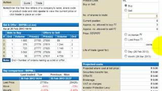 Learn how to place and monitor an order with Standard Online Share Trading