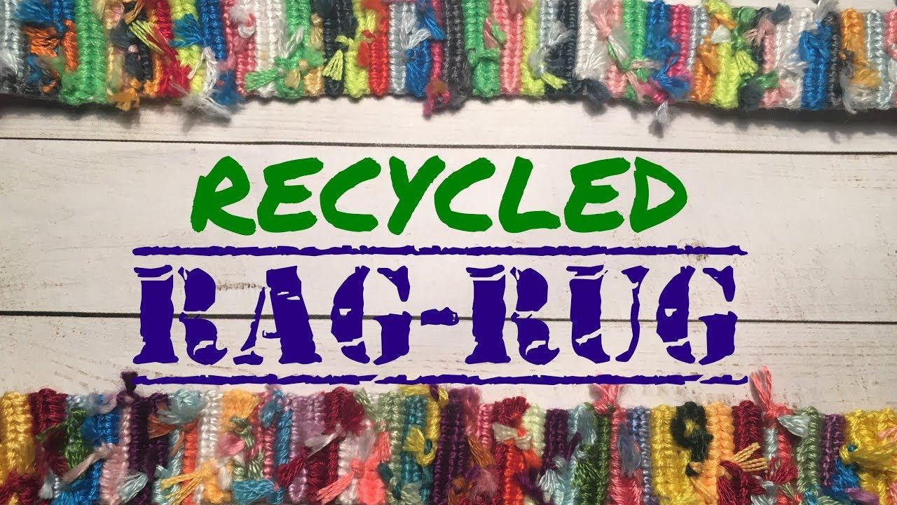 Recycled Rag Rug Friendship Bracelet