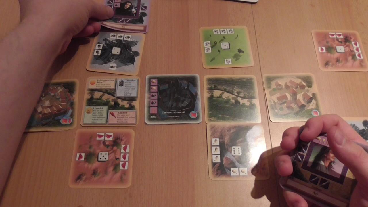 Siedler von Catan Kartenspiel Zauberer und Drachen Ersatzkarten Ersatzteil Z/&D 5