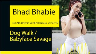Bhad Bhabie - Unknown Song / Babyface Savage (LOCALS ONLY '19@Saint-Petersburg)