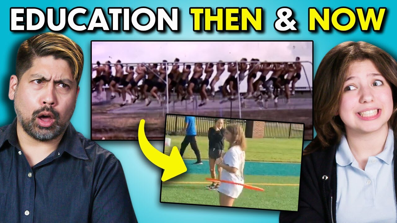Teens & Adults React To US Education Then And Now