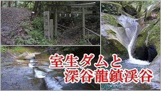 【セローで朝涼み】室生ダムと深谷龍鎮渓谷 170820