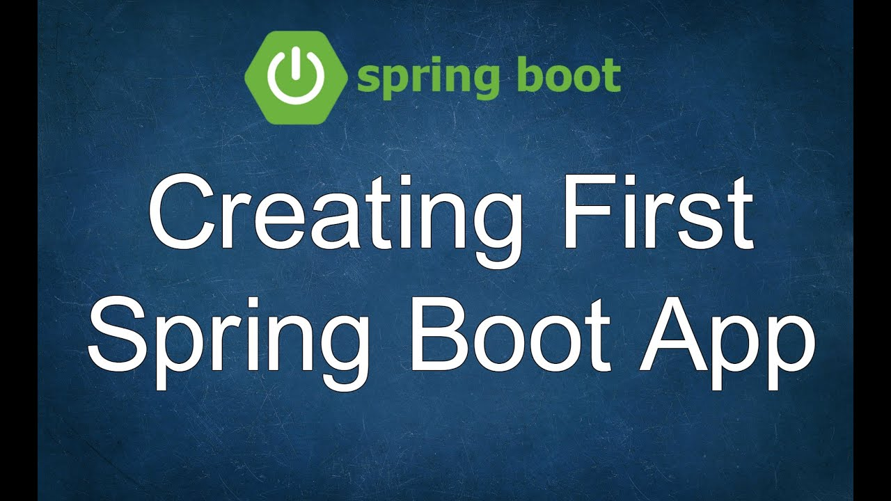 How to Create First Spring Boot Application
