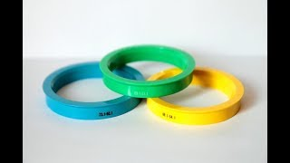 ступичные проставочные кольца своими руками за 5 минут