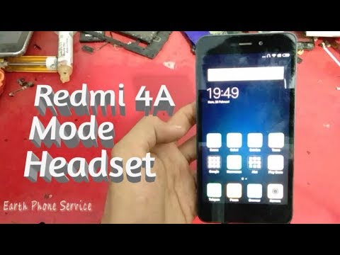 Servis Hp Xiaomi Redmi 4A Mode Headset