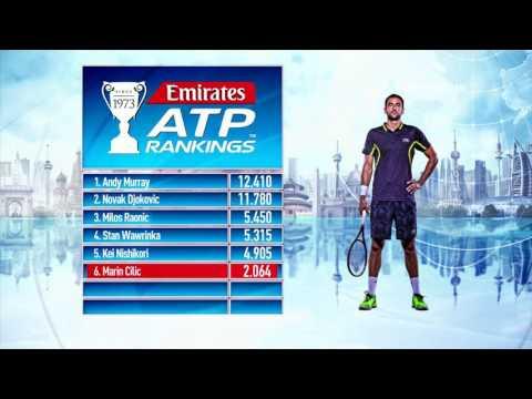 Emirates ATP Rankings Update 2 January 2017