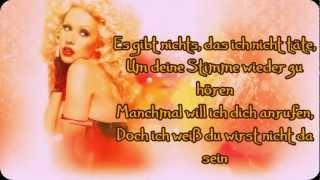 Christina Aguilera - Hurt (Deutsche Übersetzung)