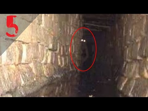 5 Bizarre Creatures Caught on Security Camera!! [Angels] [Sewer Creatures] and more!!