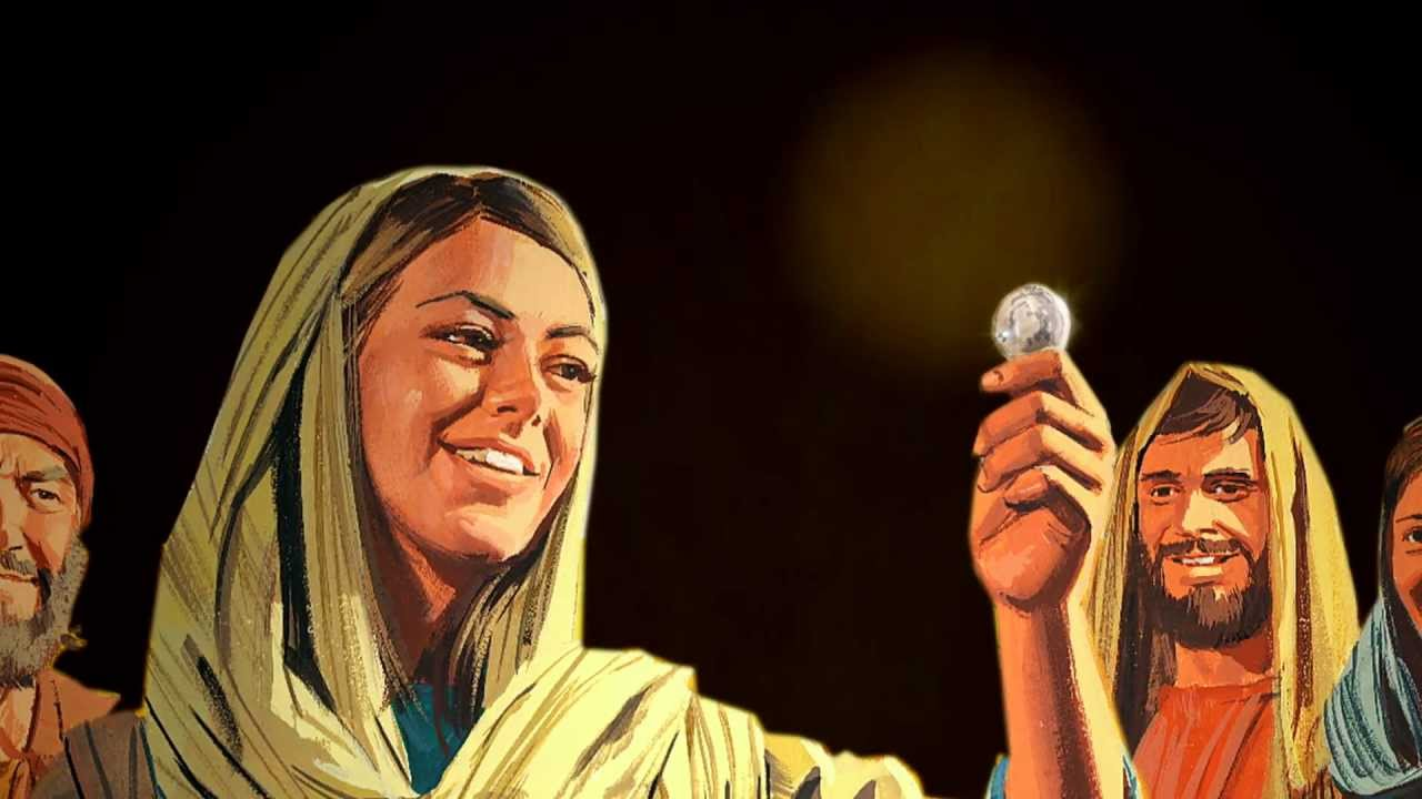 Image result for jesus lost coin