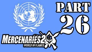 [HD] Mercenaries 2 Walkthrough Allied Nations Part 26 (Southern Caracas Outpost) PC/Xbox360/PS3