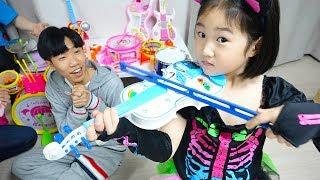 보람이와 또치의 악기 장난감 연주놀이 Boram Pretend Play Kids Got Talent Challenge