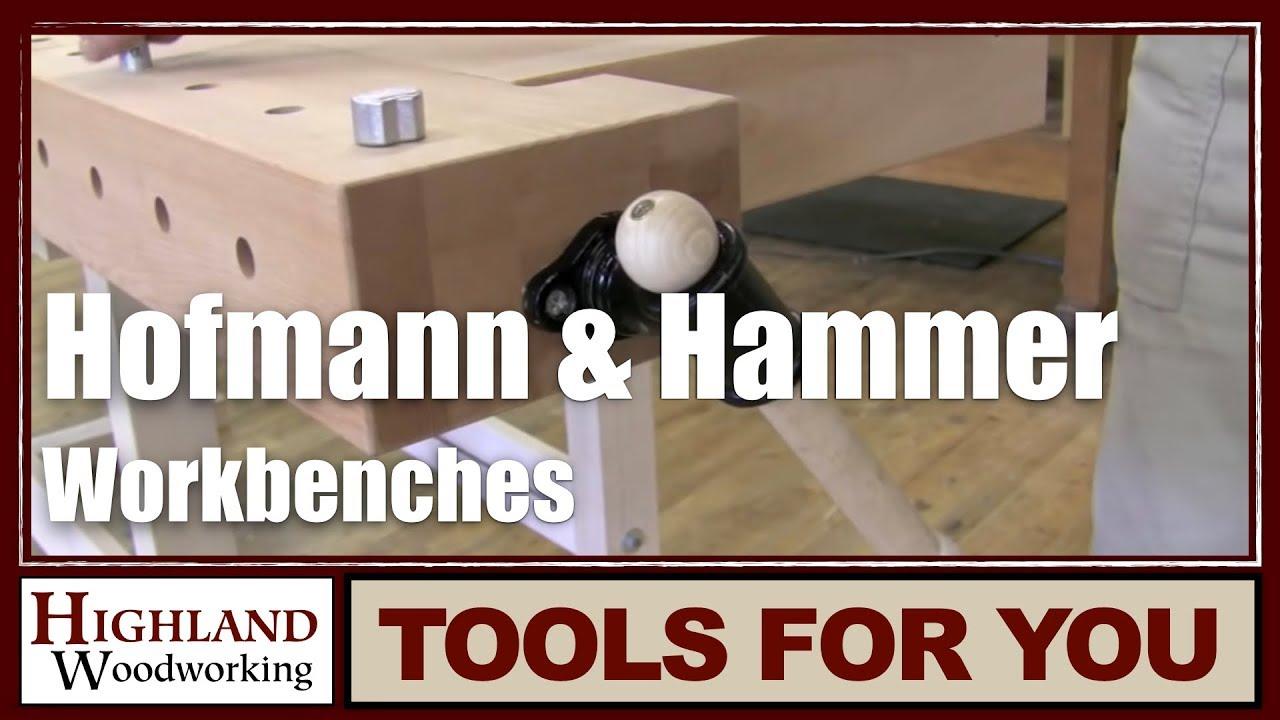 hofmann & hammer all-round workbench   german workbenches