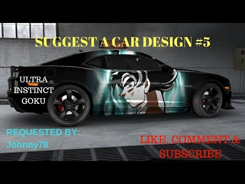 Ultra Instinct Goku - Car Decals - Suggest A Car Design #5 - Nitro Nation