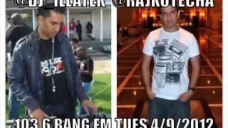 Raj Kotecha Hip-Hop Report on DJ Illatek's Bang FM Show