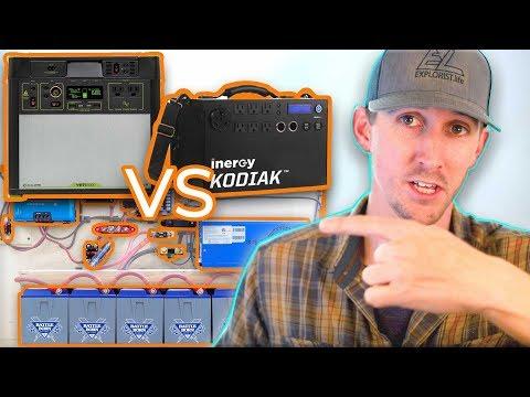 Goal Zero vs Inergy Kodiak Solar Generator vs DIY Solar Setup