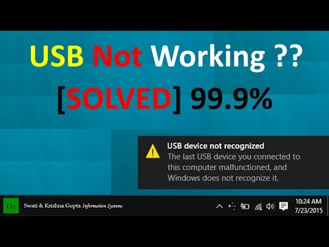 [SOLVED] Phone/USB not Working, Connecting, Recognized, Detected, Showing PC/Computer Windows 7/8/10