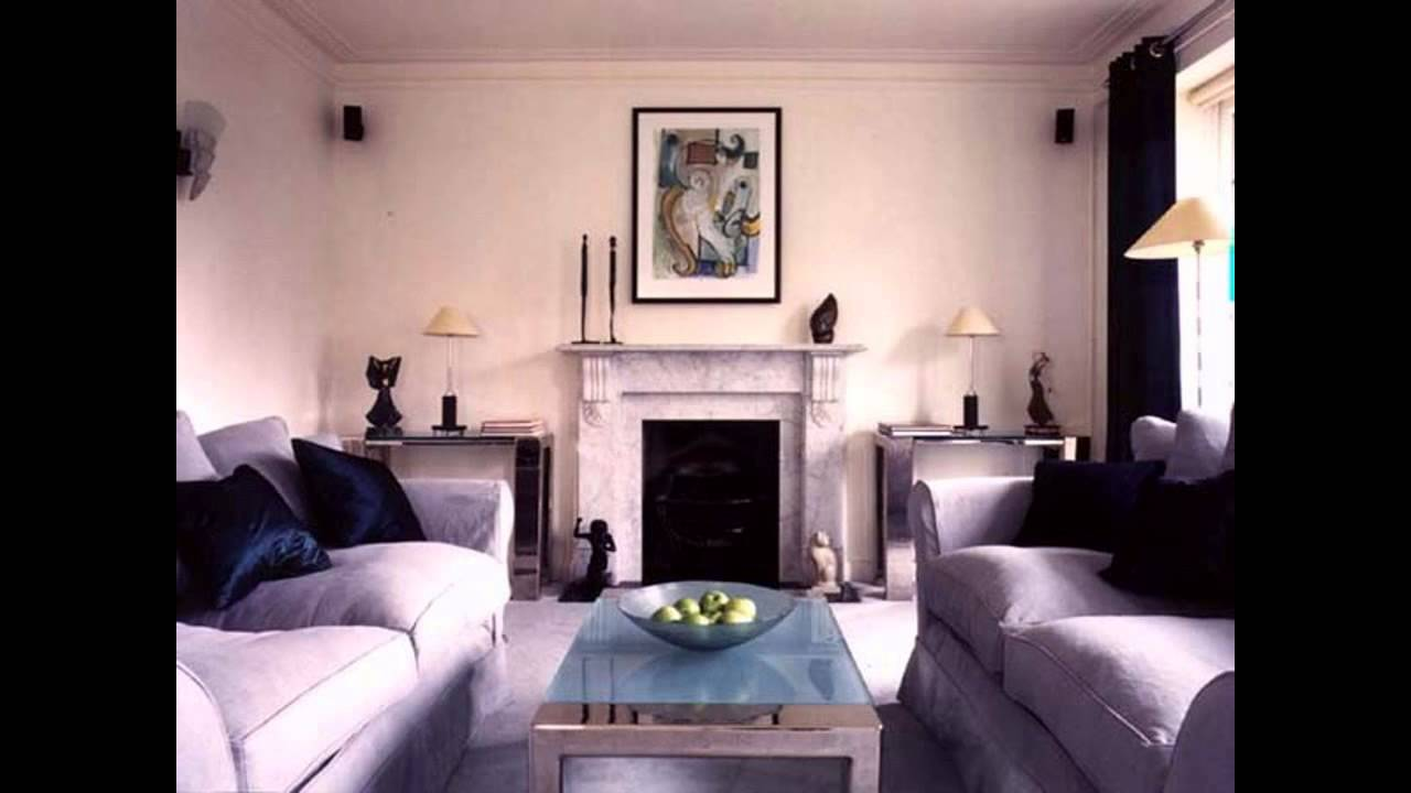 Art deco living room ideas home art design decorations youtube Small space home decor ideas pict