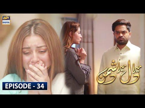 Mera Dil Mera Dushman Episode 34 - 19th May 2020 - ARY Digital Drama [Subtitle Eng]