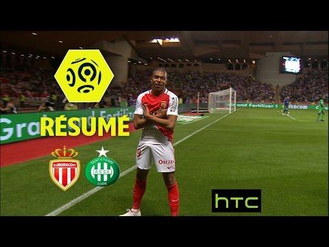 AS Monaco - AS Saint-Etienne (2-0)  - Résumé - (ASM - ASSE) / 2016-17