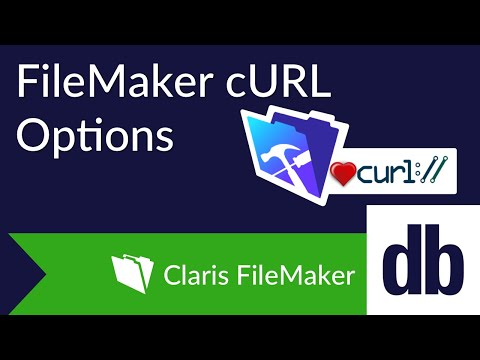 FileMaker cURL Options